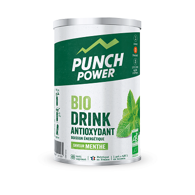 BIODRINK MENTHE ANTIOXYDANT BIO POT 500 Gr PUNCH POWER