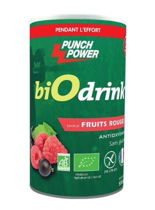BIODRINK FRUITS ROUGES ANTIOXYDANT POT 500 Gr PUNCH POWER