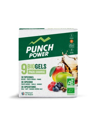 PACK COURSE - 9 GELS  BIO PUNCH POWER