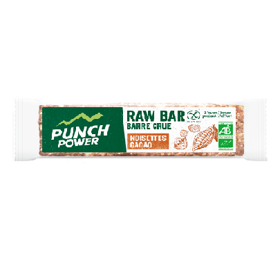 RAW BARRE NOISETTE CACAO PUNCH POWER