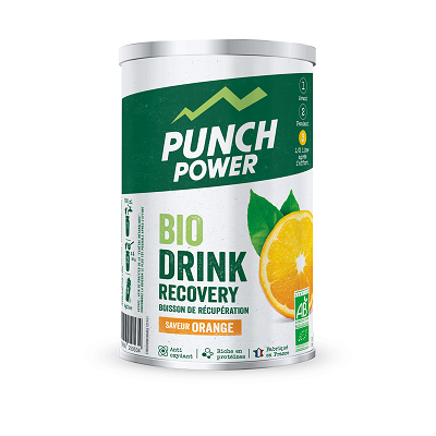BIODRINK RECOVERY ORANGE BIO POT 400 Gr PUNCH POWER